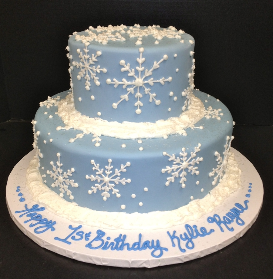 1St Winter Birthday on Cake Central