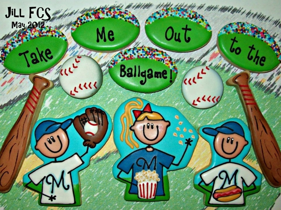 Take Me Out To The Ballgame! on Cake Central