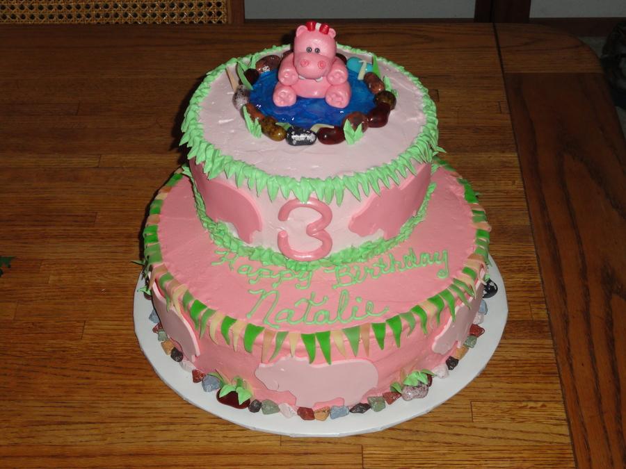 Hippo Birthday Cake Cakecentral