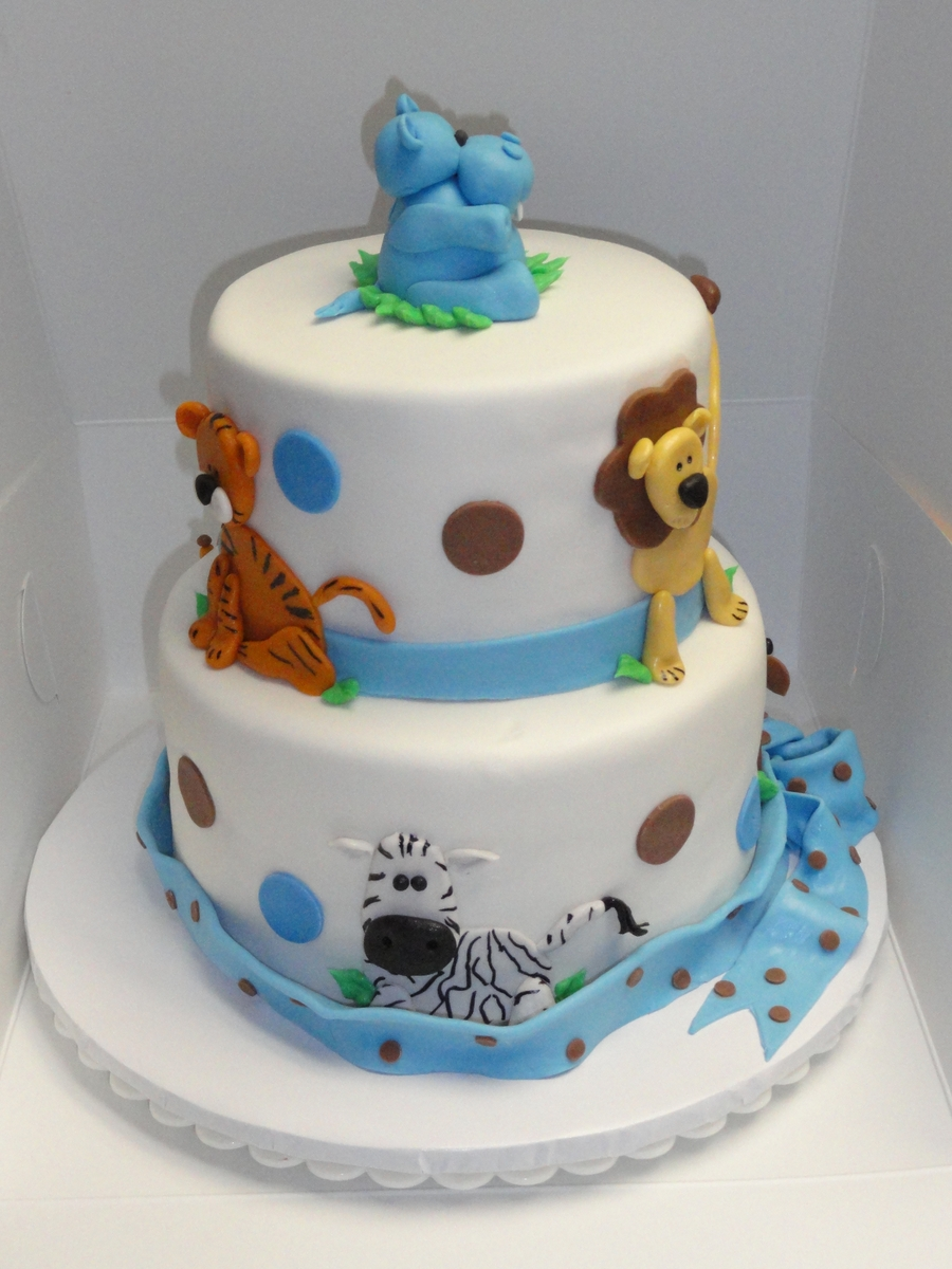 Jungle Cake Ideas Baby Shower
