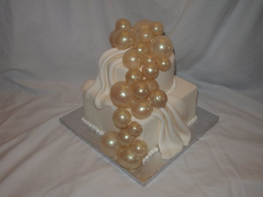 Gelatin Bubble Cake on Cake Central