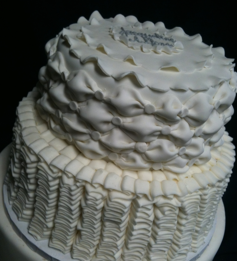 Tufted Cake on Cake Central