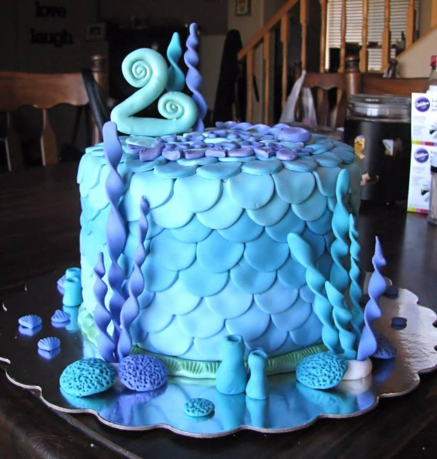 Miraculous Mermaid Under The Sea Birthday Cake Cakecentral Com Funny Birthday Cards Online Eattedamsfinfo