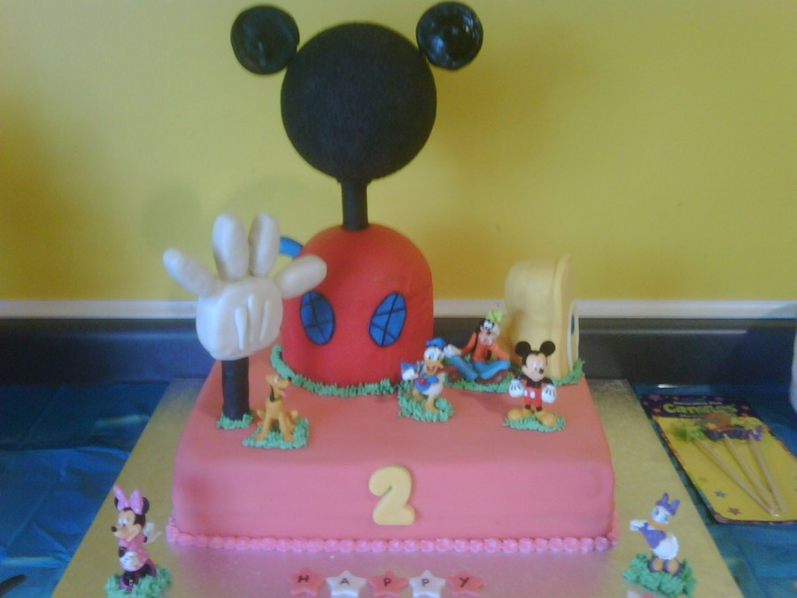 Mickey Mouse Clubhouse on Cake Central
