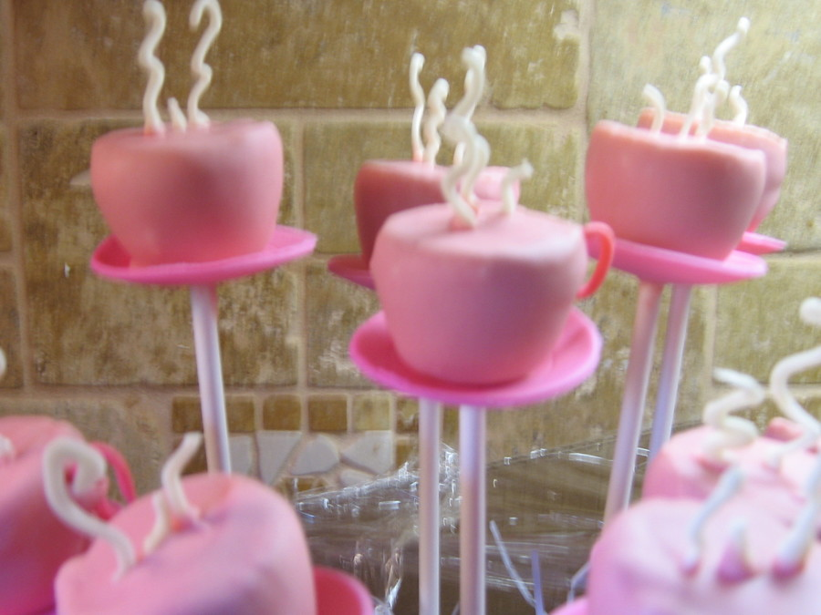 how to make teapot cake pops