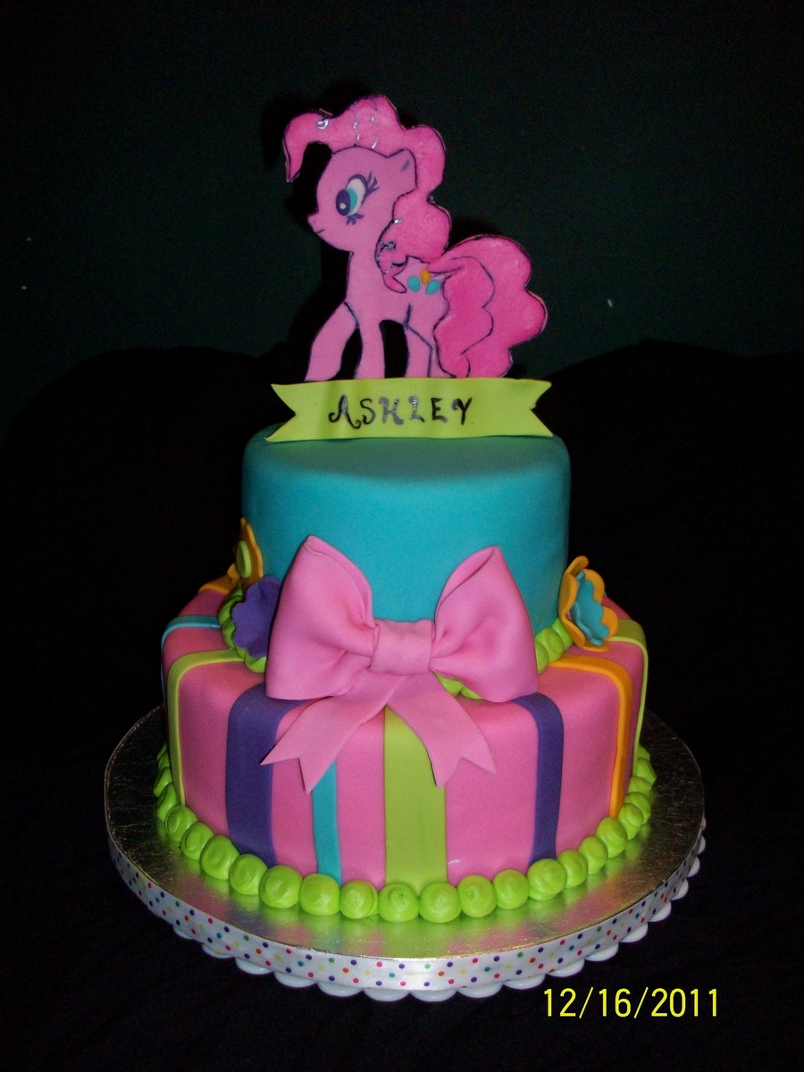 Pinkie Pie My Little Pony Cake on Cake Central