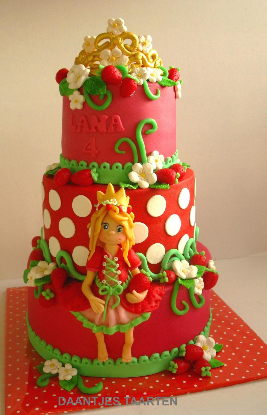 Strawberry Princess on Cake Central
