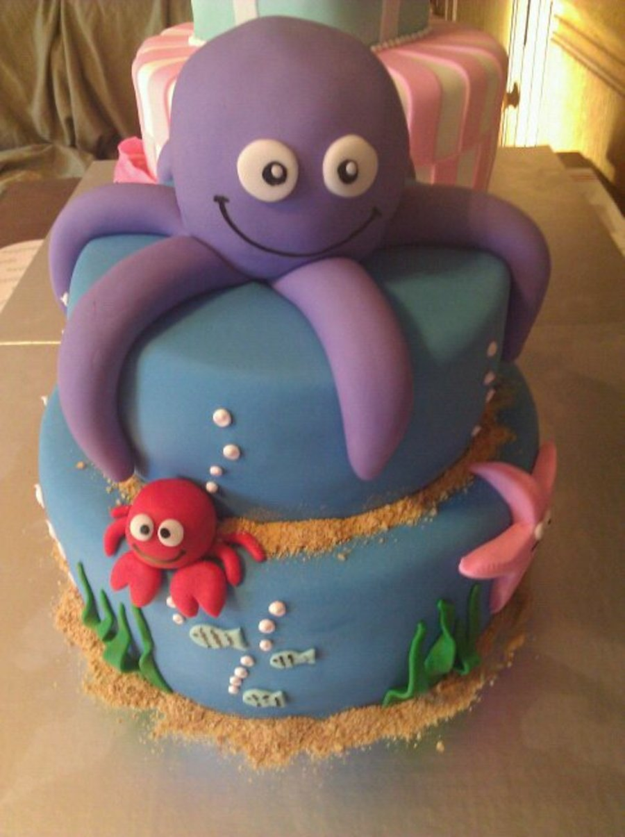 Octopus on Cake Central