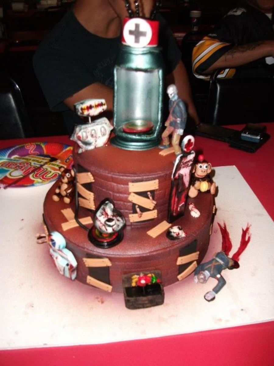 Call Of Cuty Black Ops Zombies on Cake Central