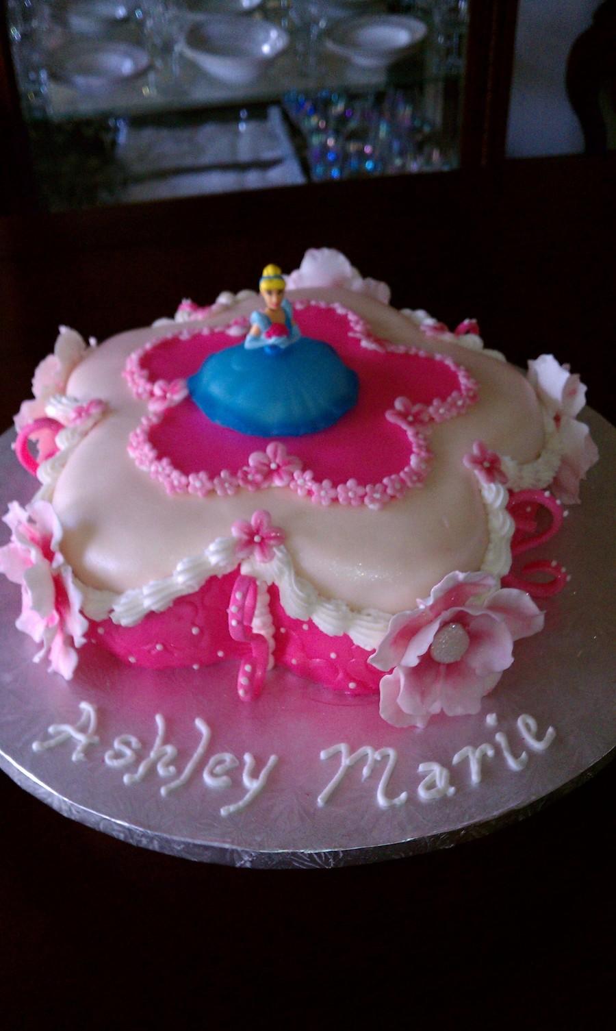 Fine Girly Cake Cakecentral Com Funny Birthday Cards Online Overcheapnameinfo