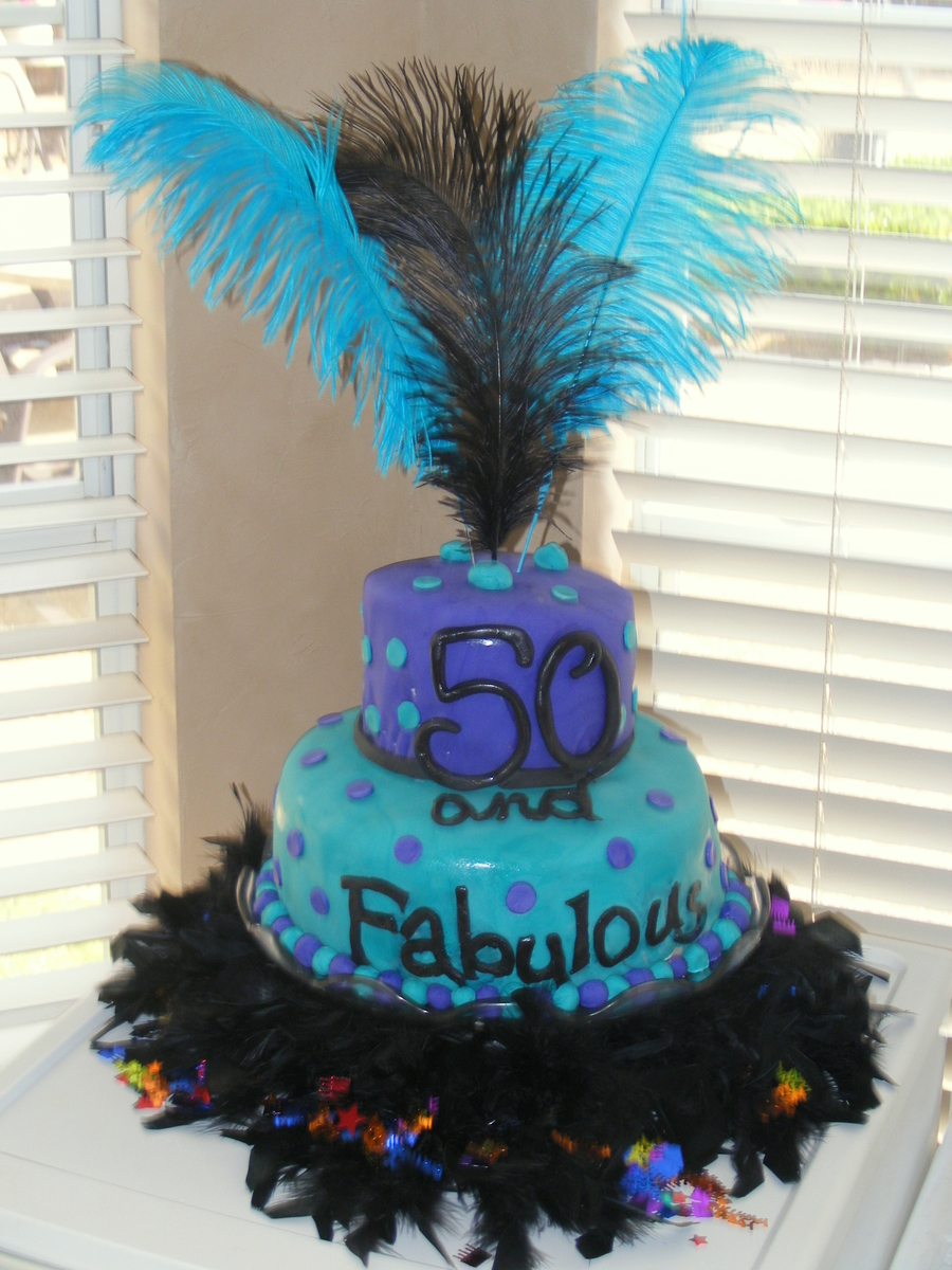 Mom S 50th Birthday Cakecentral Com