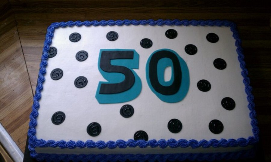 50th Birthday Sheet Cake Cakecentral