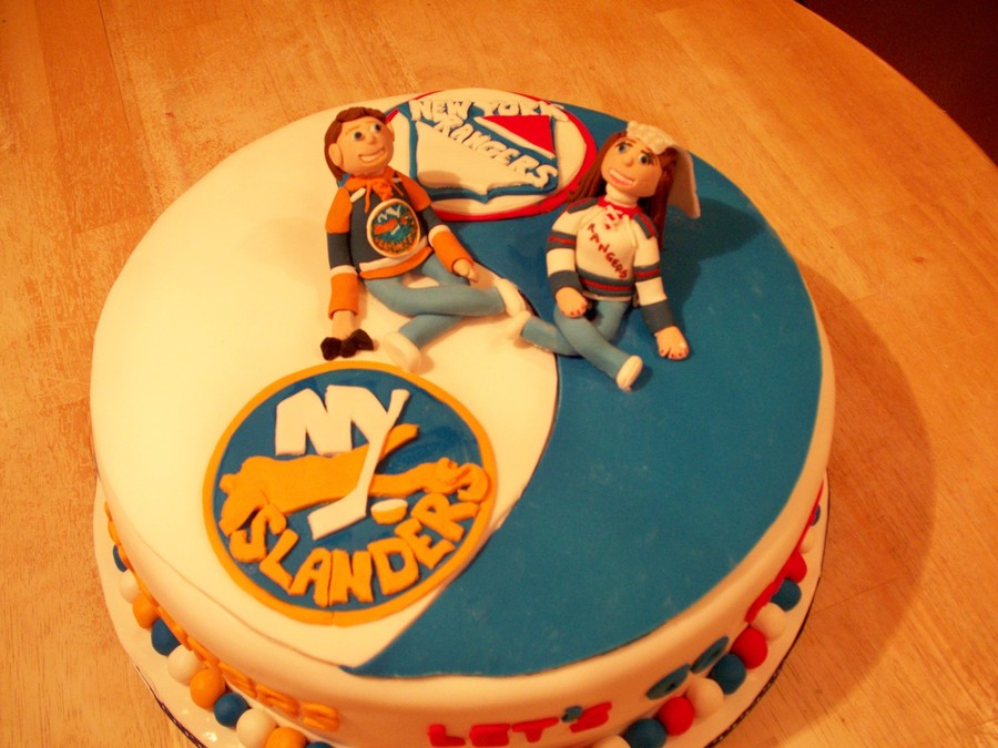 Ranger Islander Ying Yang Cake on Cake Central