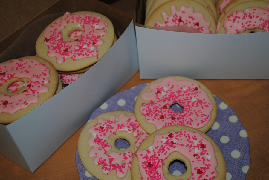 Donut Cookies on Cake Central