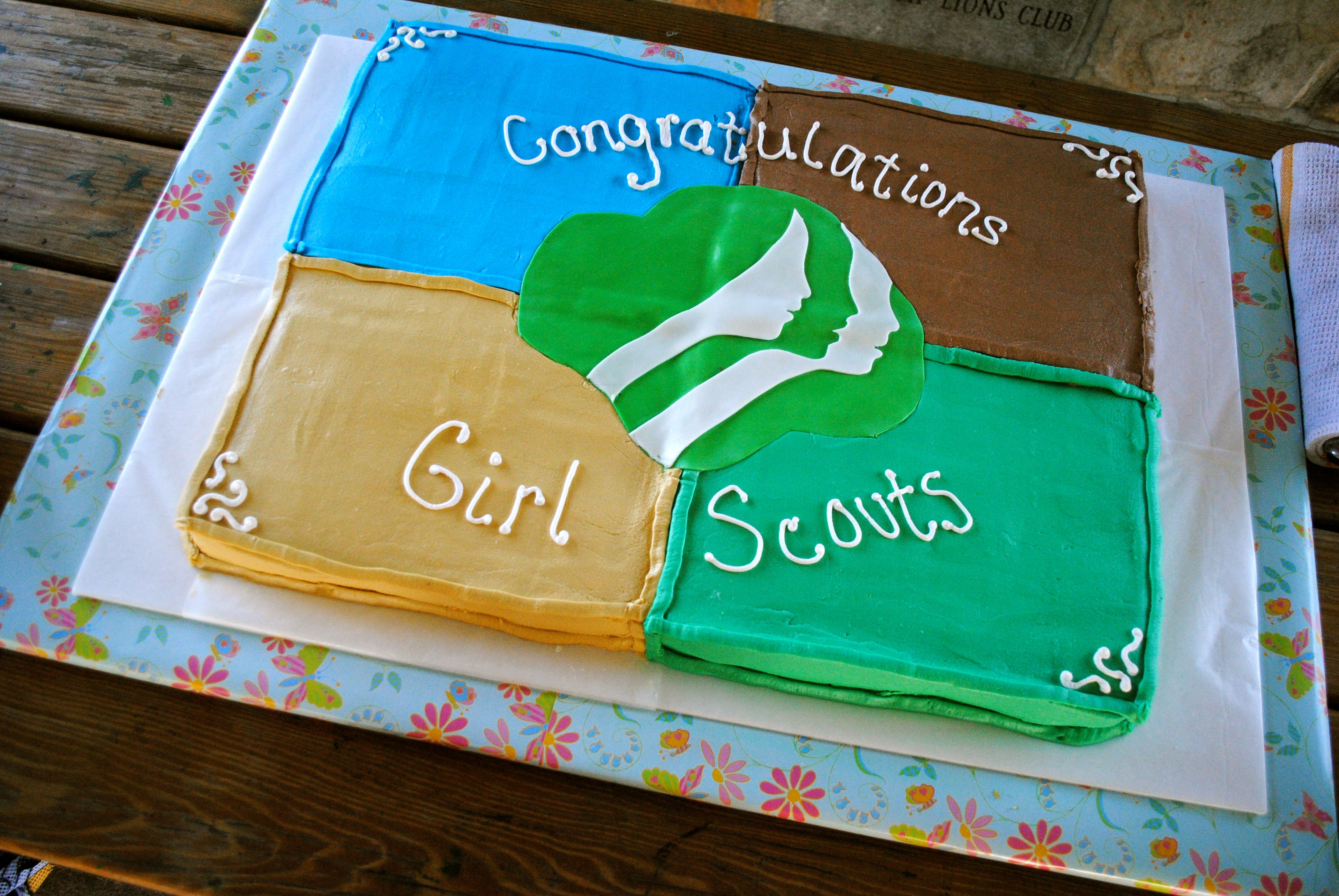 girl scout cake   cakecentral
