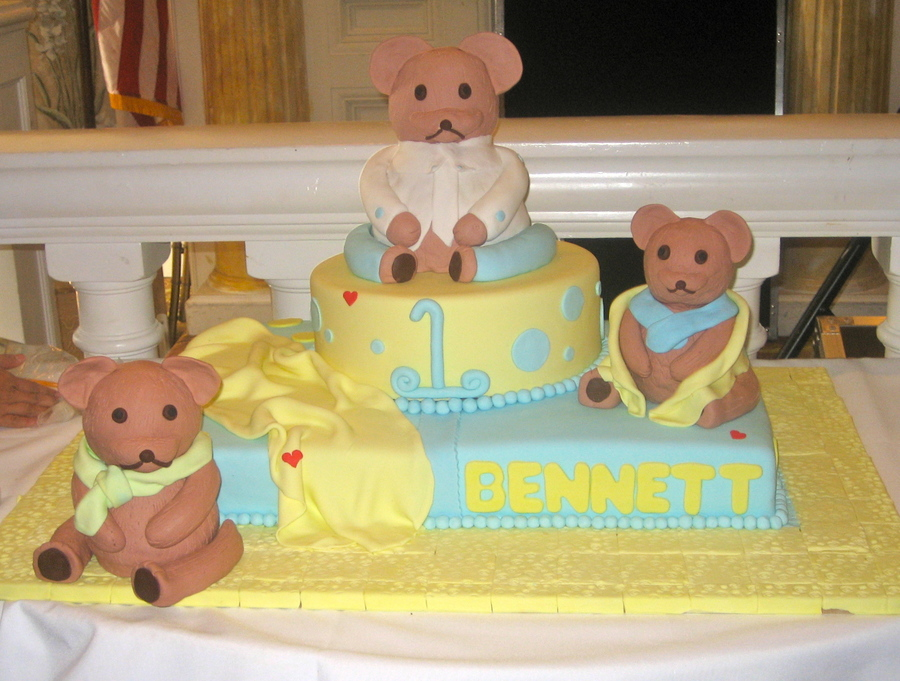 Bear Cakes on Cake Central