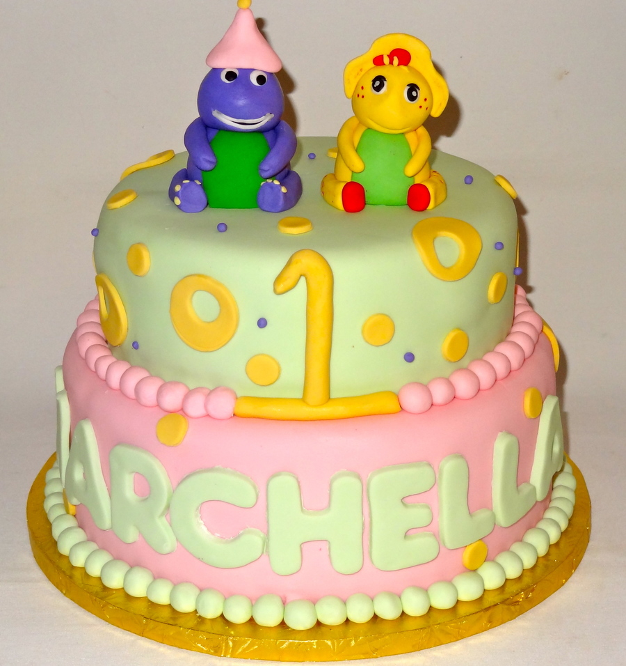 Barney And Friends Cake on Cake Central