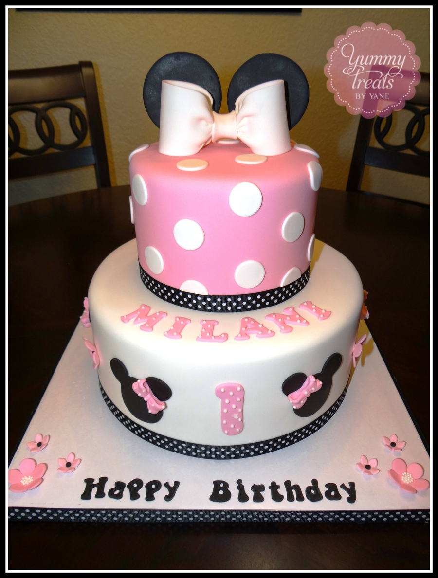 Pink Minnie Cake on Cake Central