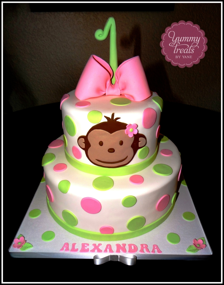 Monkey Mod Cake! on Cake Central