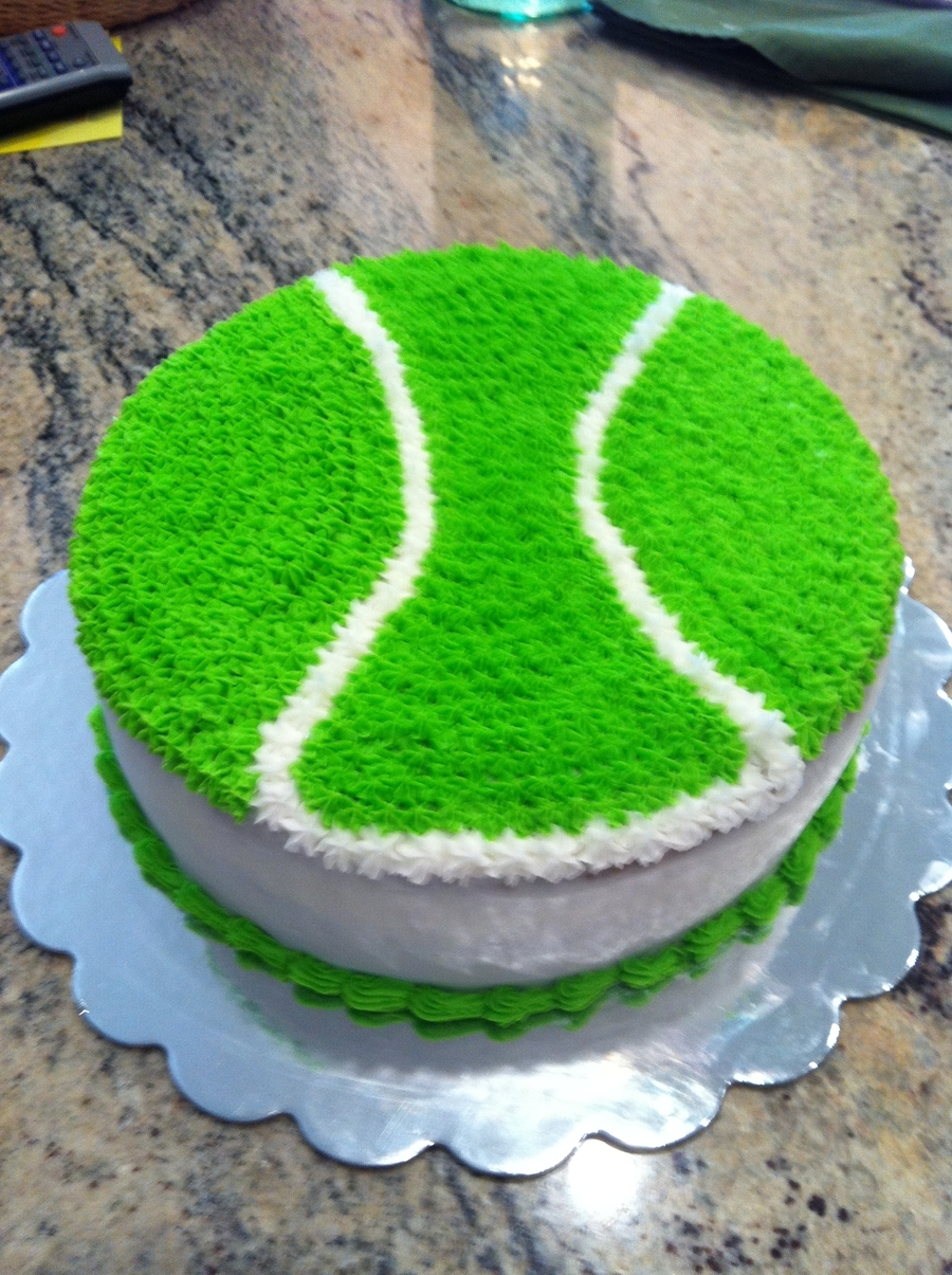 Tennis Ball Birthday on Cake Central