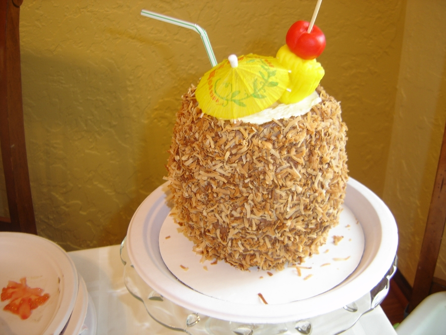 If You Like Pina Colada.... on Cake Central