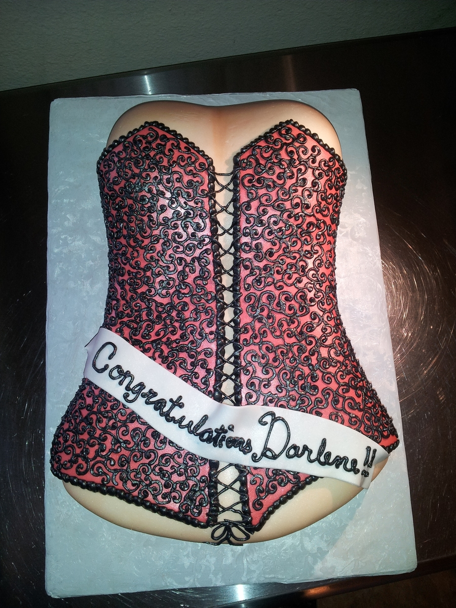 Its A Bit Risque....but Fun on Cake Central