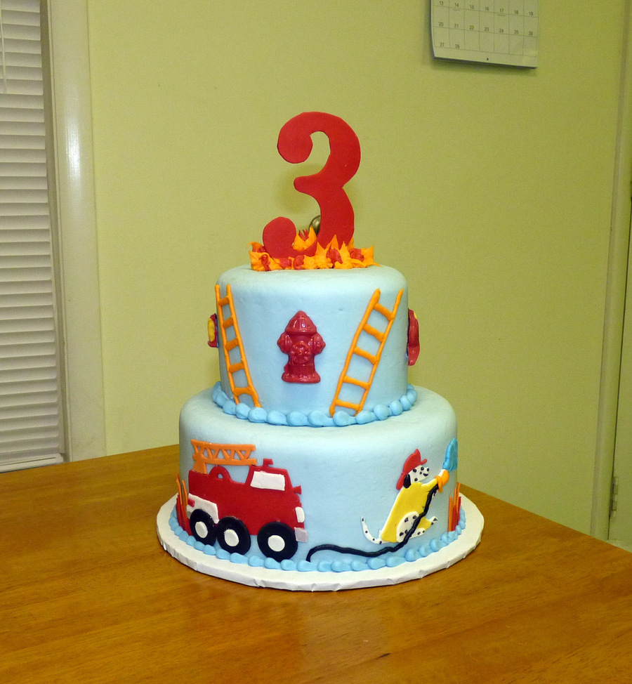 Fire Engine Birthday Cake Recipe