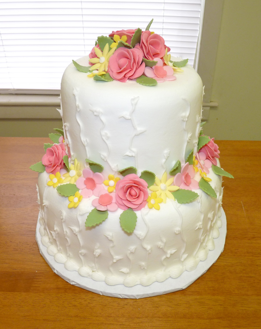 Springtime Shower on Cake Central