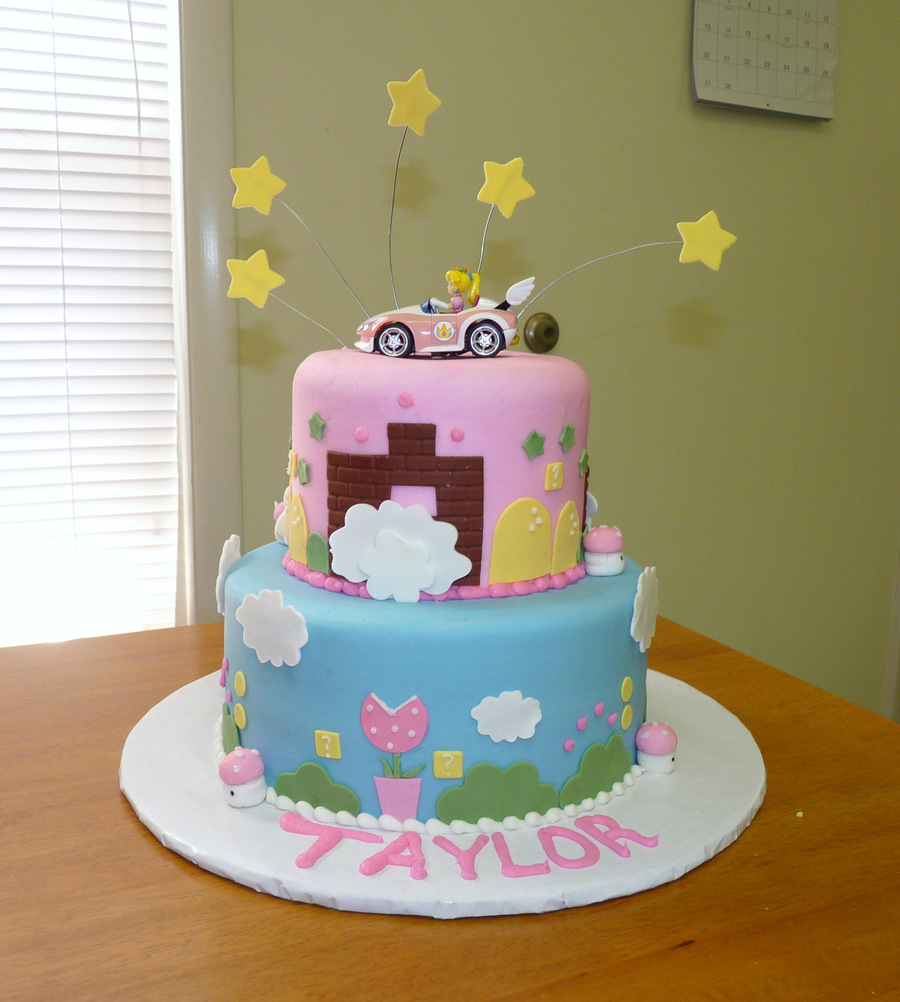 Princess Peach Birthday Cake Cakecentral Com