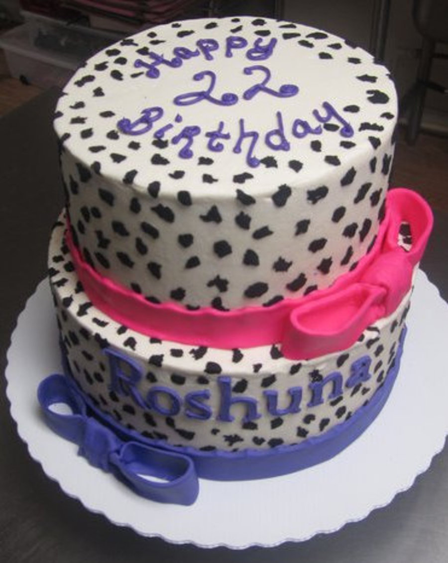 The Spotted Cake on Cake Central