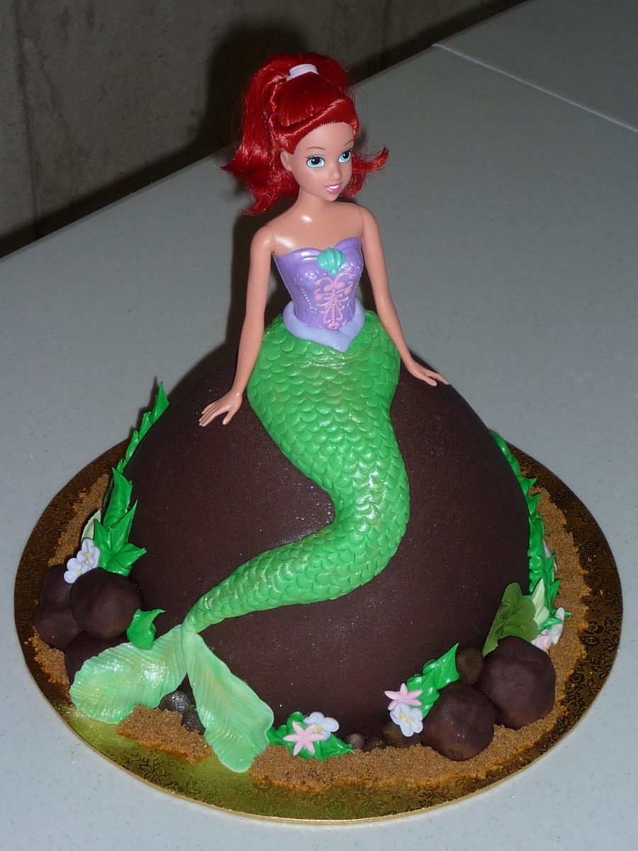 The Little Mermaid - CakeCentral com