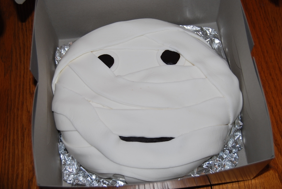 Mummy Cake on Cake Central
