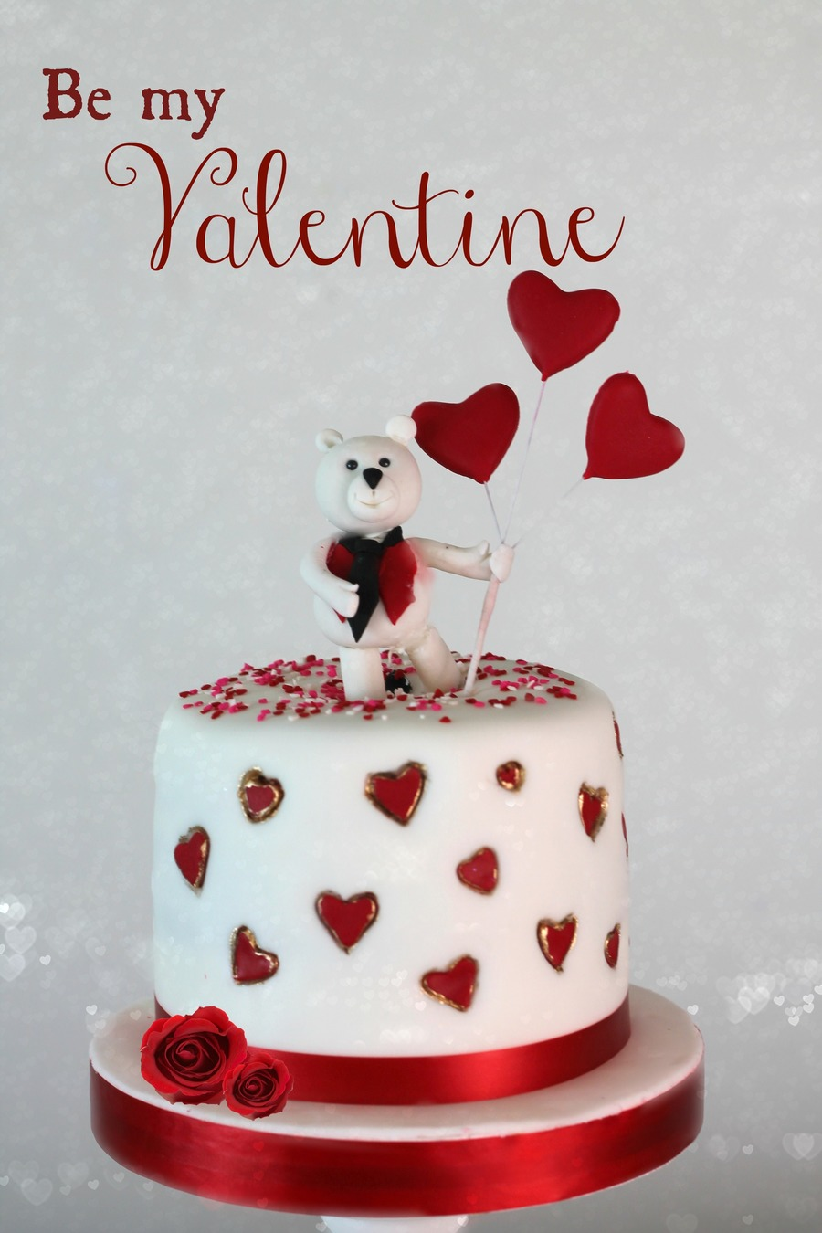 Happy Valentines!!!!! on Cake Central