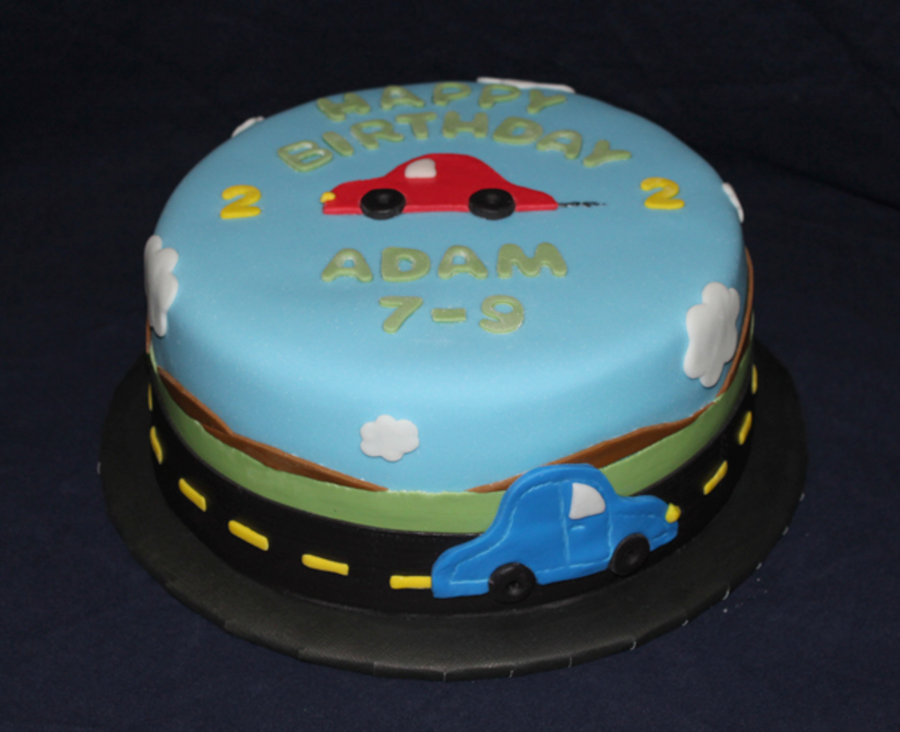 My Car Loving 2 Year Old Cakecentral Com