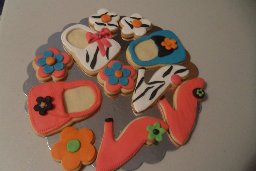 Fashion Cookies on Cake Central