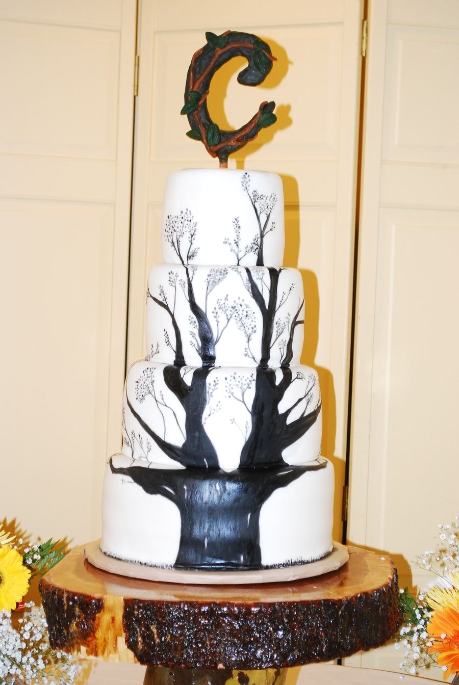Tree Wedding Cake on Cake Central