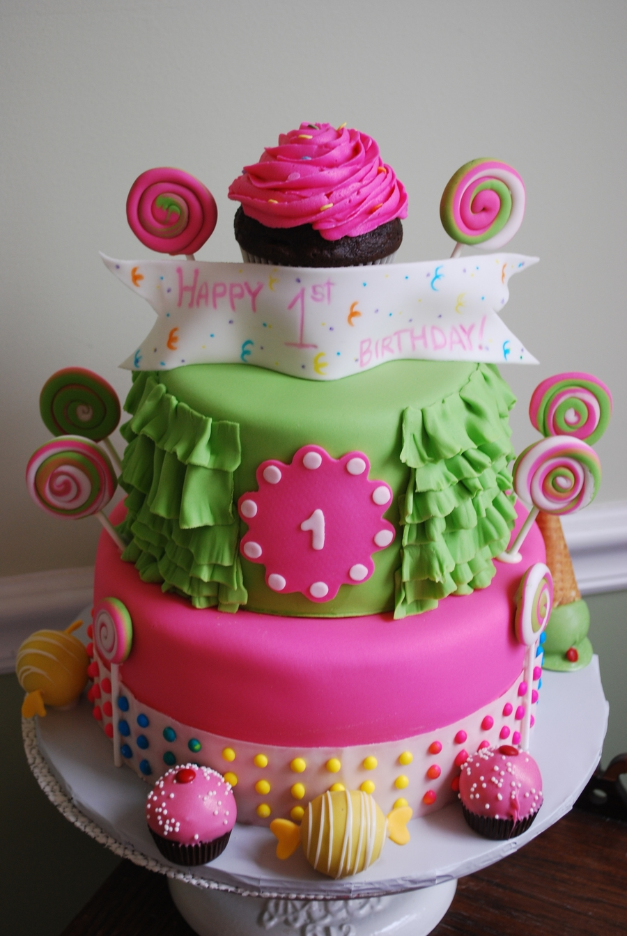 Sweet Shoppe Theme on Cake Central
