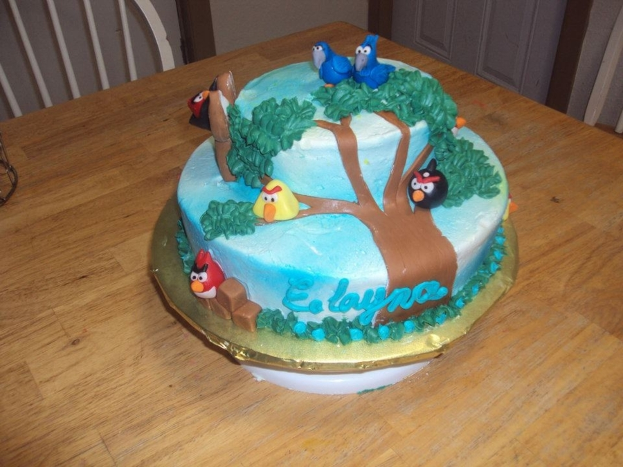 Angry Birds Cake! on Cake Central