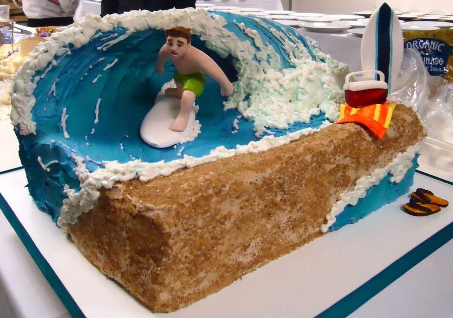 Surfboard Birthday Cake Recipe