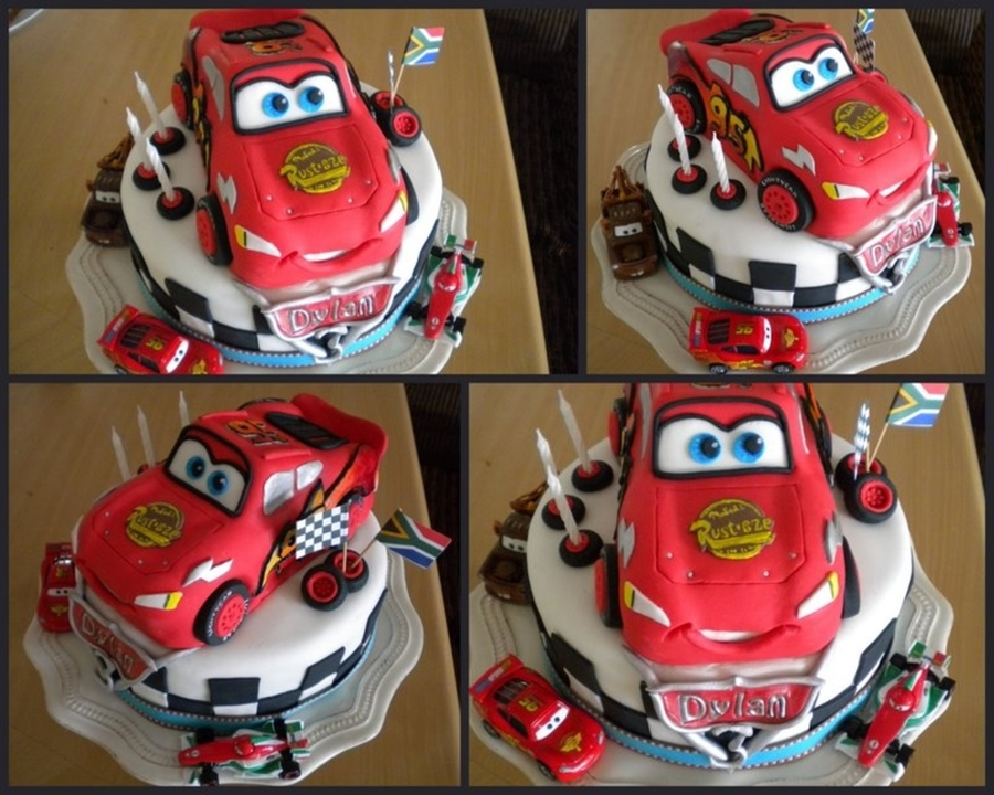 Cars Lightning Mc'queen  on Cake Central