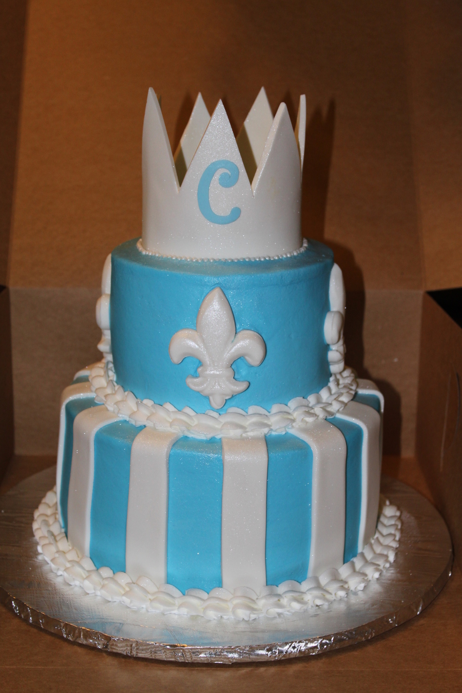 Prince Baby Shower Cake Cakecentral Com