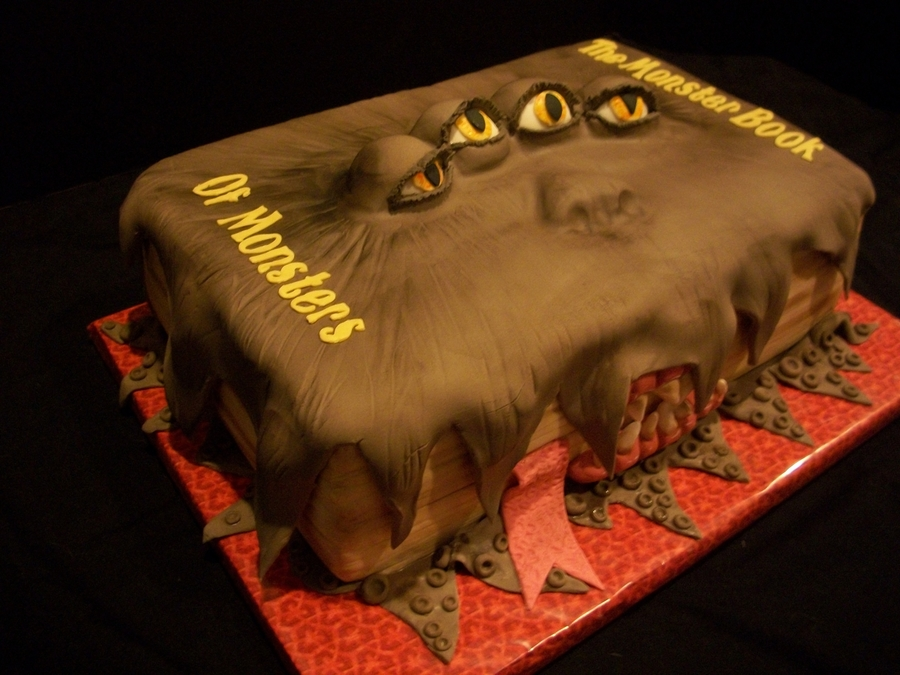 Harry Potter Monster Book Of Monsters CakeCentralcom