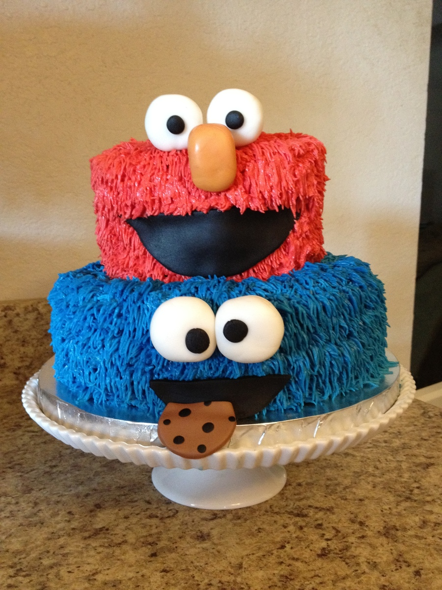 Sesame Street Cake CakeCentralcom