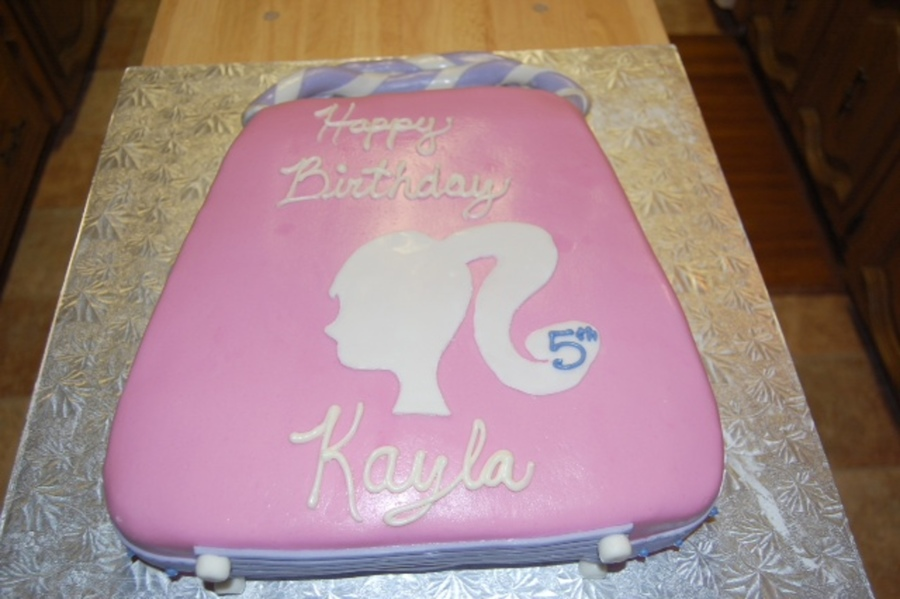 Barbie Purse Birthday Cake Cakecentral