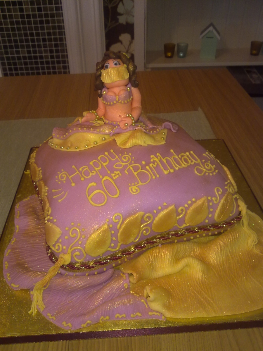 Belly Dancing Themed Cake on Cake Central