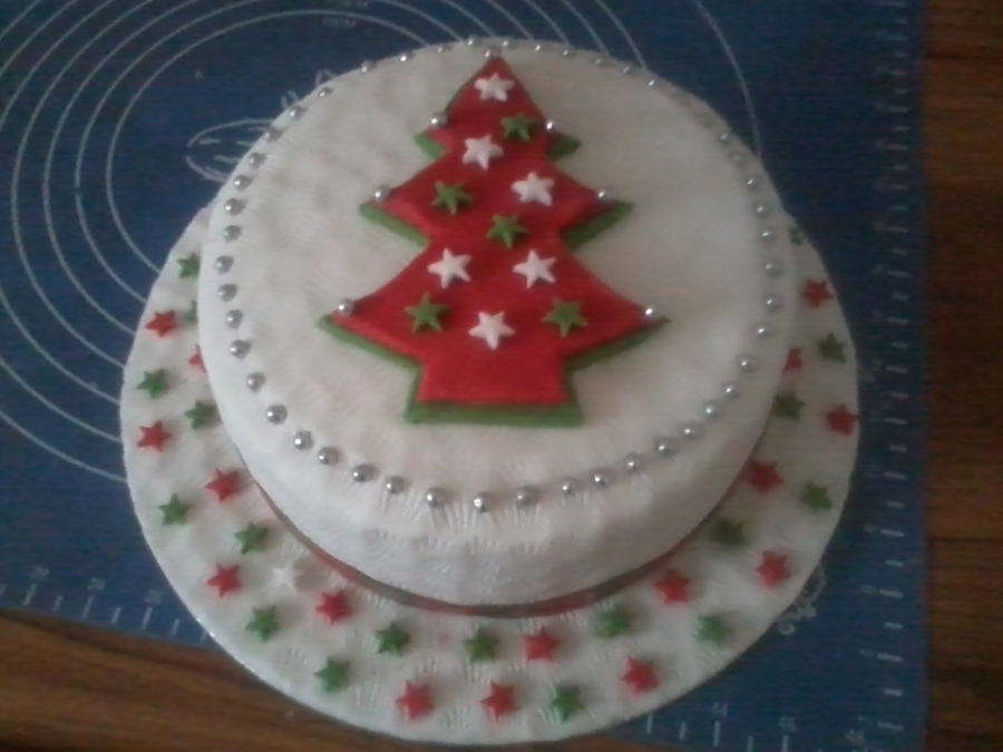 My Neighbours Christmas Cake 2012 on Cake Central