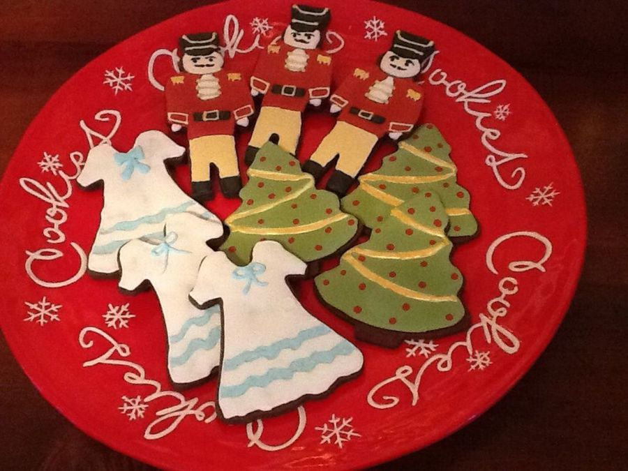 Nutcracker Cookies For A Fundraiser For Our Local Ballet School