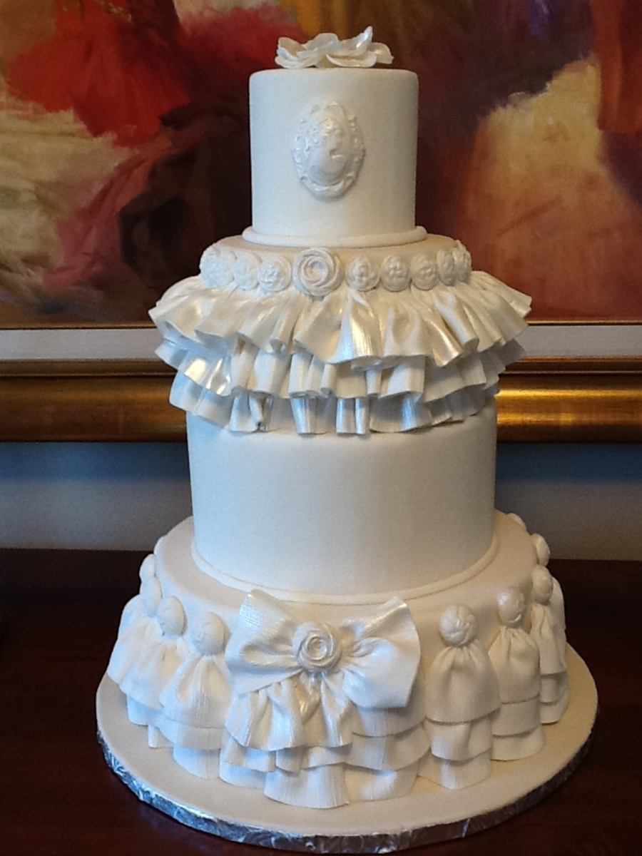 Ruffles And Bows on Cake Central