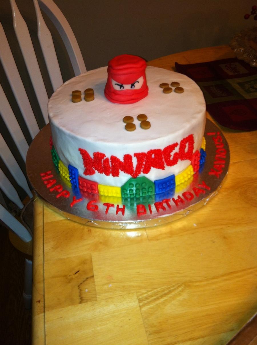 Pleasant Lego Ninjago Birthday Cake Cakecentral Com Personalised Birthday Cards Beptaeletsinfo