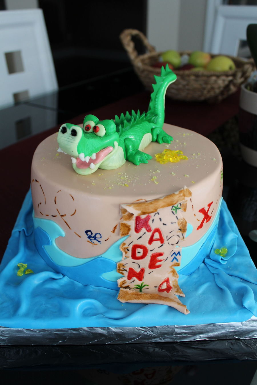 Tick Tock The Crocodile Cakecentral Com